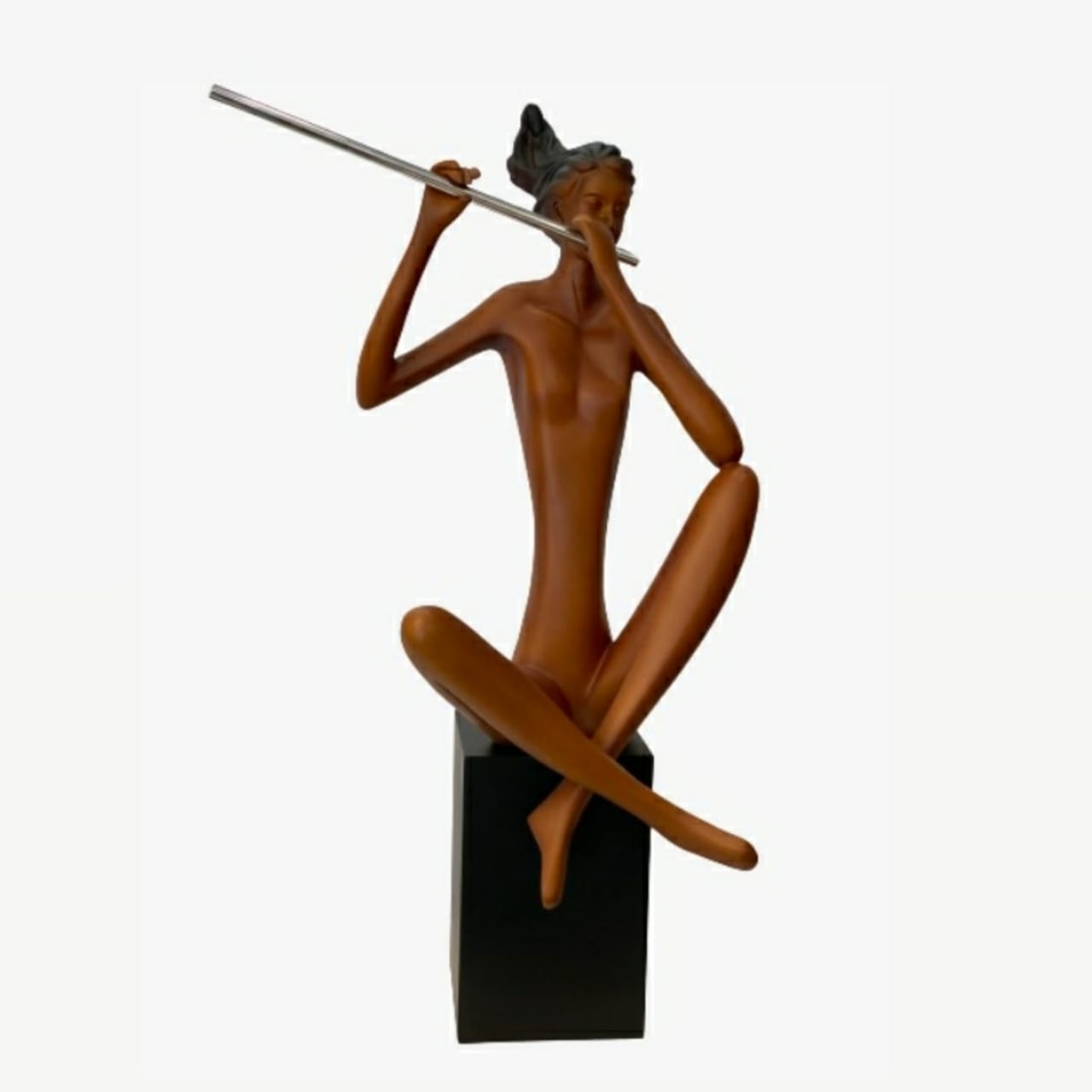 Escultura Flautista